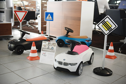 Our children's corner in Autohaus Isernhagen