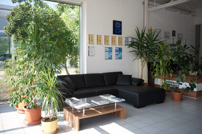 Our waiting area Autohaus Isernhagen