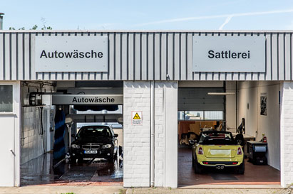 Car wash and saddlery Autohaus Isernhagen